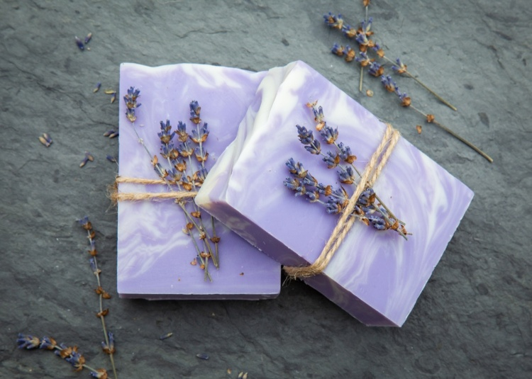 Luscious Lavender Bar Soap By Sweet Tea 'N Biscuits